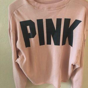 VS PINK Crop Top Sweater